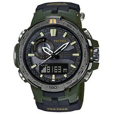 Casio Protrek Prw-6000sg-3 Prw-6000sg Cloth Band Watch