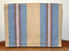 Vintage clutch bag summer blue stripe 1930 Art Deco deck chair beach pyjamas