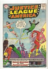 Justice League of America #24 (Dec 1963) VG+ 4.5 Adam Strange app, vs Kanjar Ro