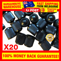 20pcs HR168 Air Valve Caps Car Tire Valve Caps Auto Truck Bike Dustproof Caps