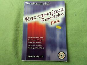 Jazzamajazz repertoire for Flute by Sarah Watts