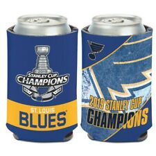 St Louis Blues Wincraft 2019 NHL Stanley Cup Champions 12oz Can Coolie FREE SHIP