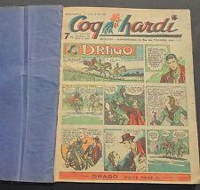 COQ HARDI Reliure amateur des n°62 à 87 - 29 mai au 20 novembre 1947.