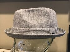 """Bailey Of Hollywood """" STOKES Trilby Snap Brim XXL Heather Grey Hat     BLOWOUT"""