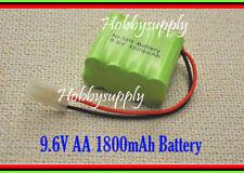 9.6V AA Batería Ni-MH 2*4 1800mAh Tamiya Conector para RC HL 1/24 Tanque, 3810 Barco