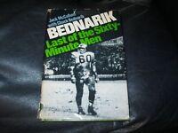 Bednarik Last of the 60 Min Men Book Autographed by Chuck Bednarik JSA Auc Cer 2