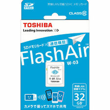 Toshiba 32GB SD SDHC Secure Digital Class 10 Wireless LAN Wifi 32 G GB FlashAir