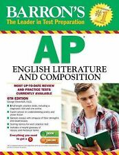 NEW - Barron's AP English Literature and Composition, 6th Edition