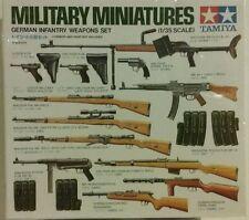 Tamiya 1/35 german infantry weapons