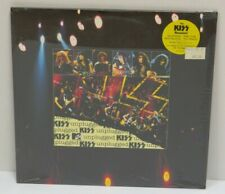 KISS UNPLUGGED 2LP VINYL + POSTER FACTORY SEALED WITH PROMO & PRICE STICKER