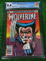 CGC Comic graded 9.4 Wolverine Ltd Series Marvel  #1 HOT Key issue