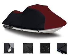 BURGUNDY SEA DOO Jet Ski Bombardier RX PWC COVER 2000-02 2003 2 Seater
