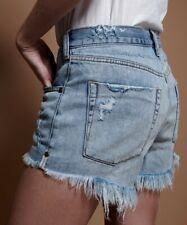 One Teaspoon Women shorts size 24 Denim Blue