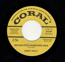 ROCKABILLY-BUDDY HOLLY-BROWN-EYED HANDSOME MAN/WISHING-CORAL 62369