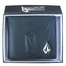 New with Box Volcom Men's Surf Faux Leather Wallet  Xmas Gift #051