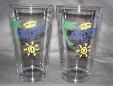 Corona Extra Glasses (Set of Two) Mixer style beer glasses / NICE GLASS!