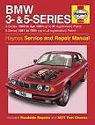 BMW 3 5 Series Petrol 81-91 Haynes Manual New