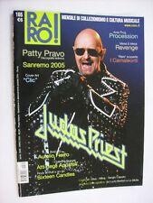 RARO #165/2005 - RIVISTA MUSICALE - JUDAS PRIEST - PATTY PRAVO - PROCESSION