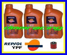 Kit Tagliando YAMAHA XT 600 83>84 + Filtro Olio REPSOL 10W/40 XT600 1983 1984