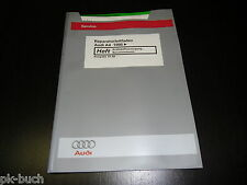 Workshop Manual Audi A4 B5 Fuel Supply Petrol Motor Stand 01/1998