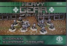Heavy Gear Blitz Utopian & Eden Support Troupe MINT
