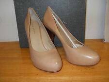 Via Spiga New Store Display Womens Anita Capucino Leather Heels 10 M Shoes NWB