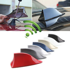 NEW Universal Auto Car Roof Radio AM/FM Signal Shark Fin Style Aerial Antenna