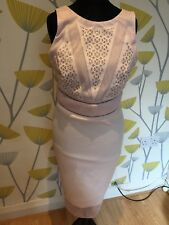 New with tags. Lipsy Michelle Keegan Cut Out Dress Size 12   Pink