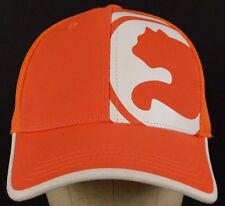Procat Puma Logo Orange Mesh Baseball Hat Cap Fitted Band