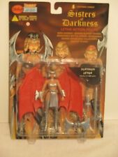 """Lightning Comics Sisters of Darkness Platinum Letha 6"""" Action Figure Weapons"""