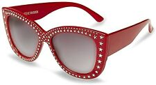 Sold Out Steve Madden Red Stud Sunglasses