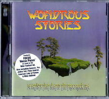 WONDROUS STORIES 34 Artists Prog Era Focus/Yes/J.Tull/EL&P/Gong/Genesis ecc 2 CD