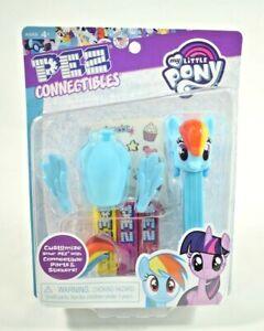 "Pez Connectibles - My Little Pony ""Rainbow Dash"" Customizable Pez Dispenser New"