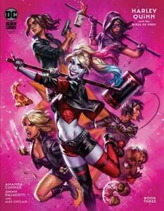 HARLEY QUINN AND THE BIRDS OF PREY #3 (OF 4) COVER B MACDONALD NM