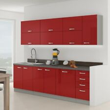Küchenmöbel Multiline Set IV Küche Komplett Küchenblock Küchenzeile Einbauküche