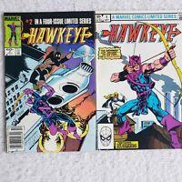 Marvel Comics 1983 HAWKEYE #1 & #2 Limited Series Comic Book
