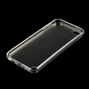 For iPod Touch 5 6 7 Silicone Case Black and Transparent Cover