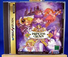 Princess Crown - Sega Saturn SS - Japan - Free Standard Shipping with Tracking