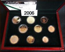 manueduc  LUXEMBURGO 2006  ESTUCHE PROOF 9  Monedas Las 2 de 2 Euros  Proof