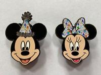 NEW D23 WDI Disney Pins, Mickey & Minnie, Mickey's 90th Birthday LE 1000