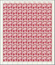 BERLIN 1975 Mi. 499 ** Bogen FN 1, Industrie & Technik, Full Sheet NH 60 €