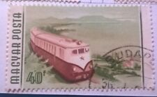 Hungary stamps - Diesel locomotive  1955 40 forint