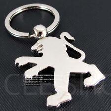 Porte clé Métal Chromé - neuf - Peugeot 205 206 207 208 306 307 308 405 406 407