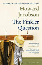 The Finkler Question, Jacobson, Howard, Very Good Book