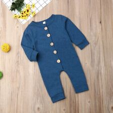 Baby Kids Boy Romper Bodysuit Jumpsuit Outfits Clothes Christmas Girl Infant 6M