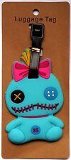 3X4.5 in SCRUMP DOLL Lilo & Stitch Movie Baggage Suitcase Travel LUGGAGE TAG