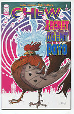 2012 Chew Secret Agent Poyo #1 ~Signed by Layman~ (Grade 9.2) WH