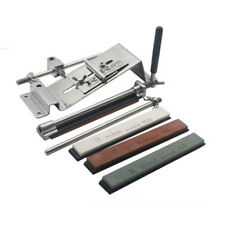 For Scissors Planers 2 Blade Whetstone with 4 Stones Fixed Angle Sharpener