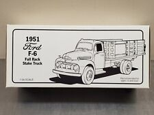 1st Gear 19-1237 Texaco Pipeline Series 1951 Ford F-6 Stake Truck