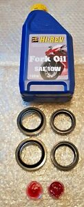 LEXMOTO ADRENALINE 125 2B-E4 2014-2019 FORK OIL AND DUST SEALS WITH FORK OIL
